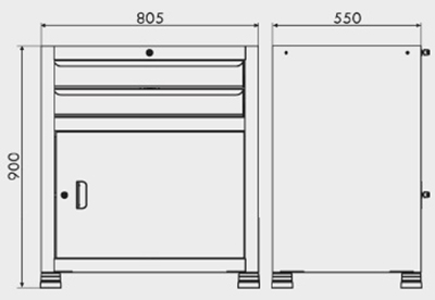 gaveteiro modular 7 gavetas medidas gav812 400px compressor
