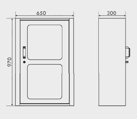 armário para ferramentas com gavetas 1 prateleira e chapa perfurada medidas ARM-029