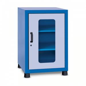 armário com gavetas com 1 porta visor GAV 620