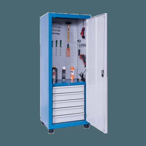 armário de aço para ferramentas com 5 gavetas ARM 013