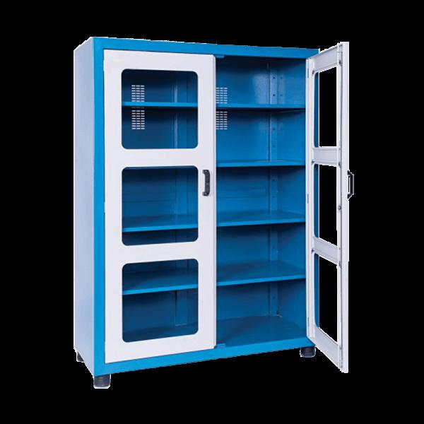 armário industrial com portas e prateleiras ARM 006