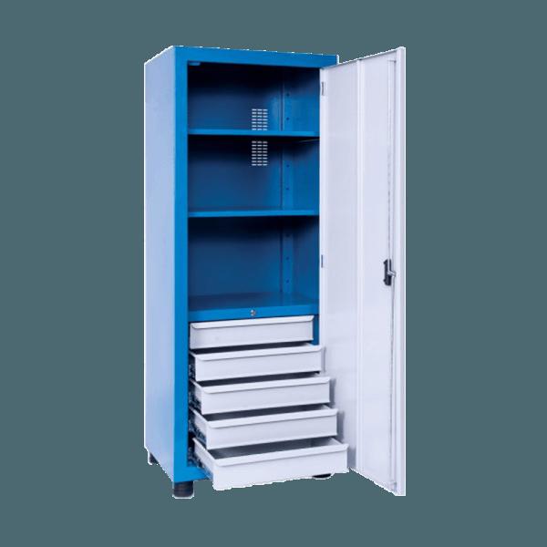 armário industrial para ferramentas com 5 gavetas ARM 012