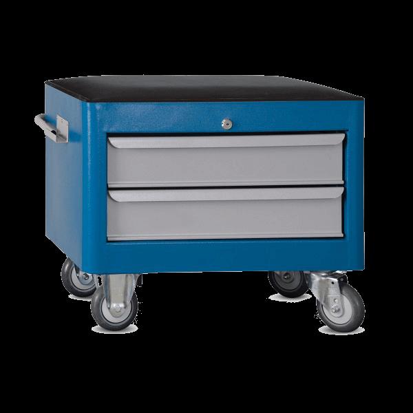 caixa para ferramentas estofada com 2 gavetas BAU 602R