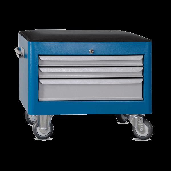 caixa para ferramentas estofada com 3 gavetas BAU 603R