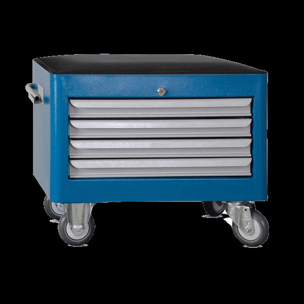 caixa para ferramentas estofada com 4 gavetas BAU 604R