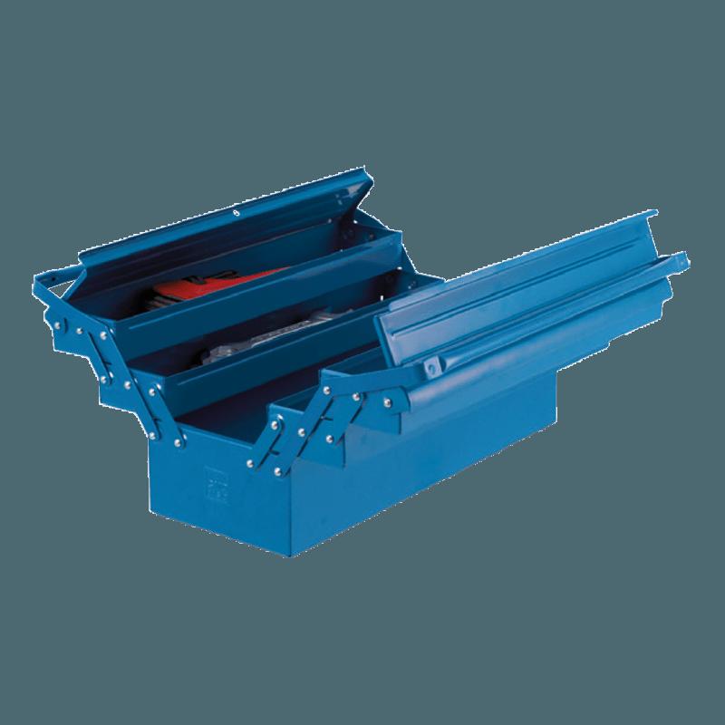 caixa para ferramentas sanfonadas 5 gavetas 100 BAS