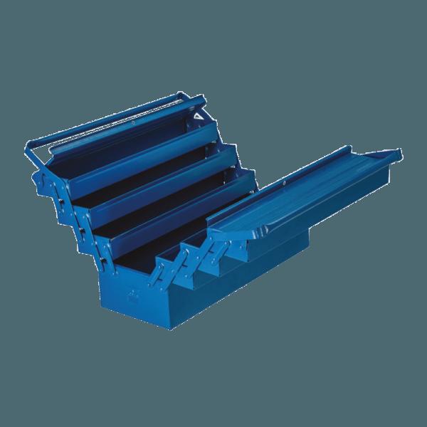 caixa para ferramentas sanfonadas 7 gavetas 100 FBAS