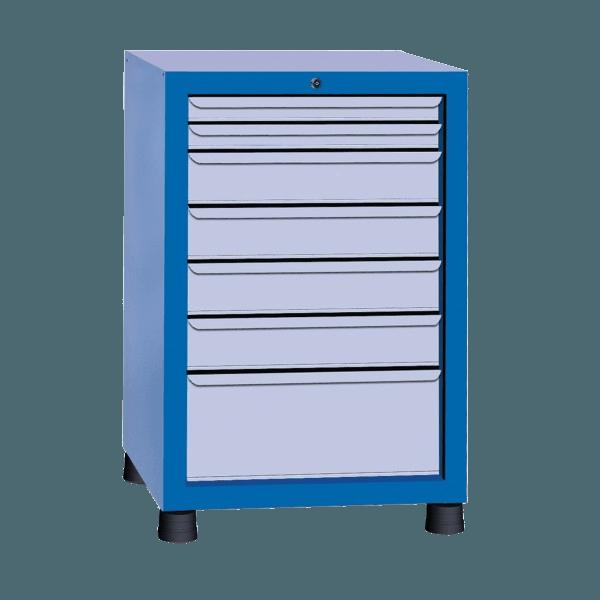 Estante gaveteiro para parafuso com 7 gavetas GAVPM603
