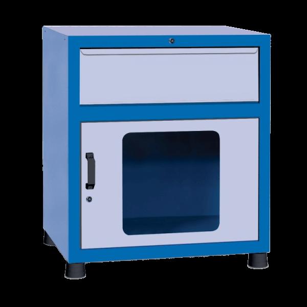 estante gaveteiro para parafusos com 1 porta visor GAV 818