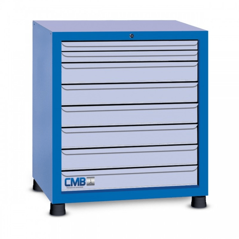 Gaveteiro Industrial com 8 gavetas - GAV 804