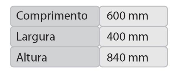 medidas série CAR 601-608