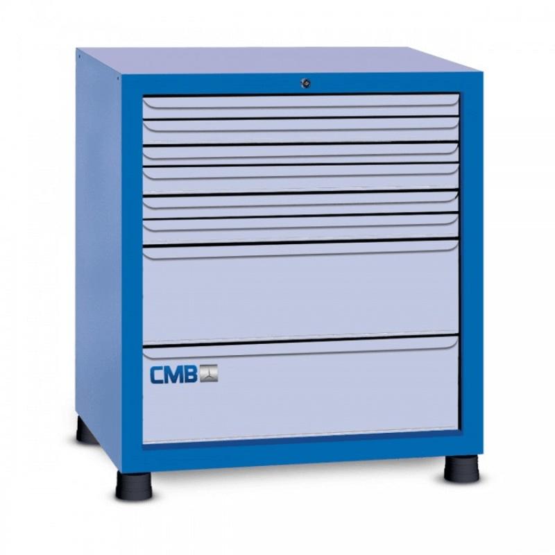 Organizador de peças para oficina com 8 gavetas GAV 810