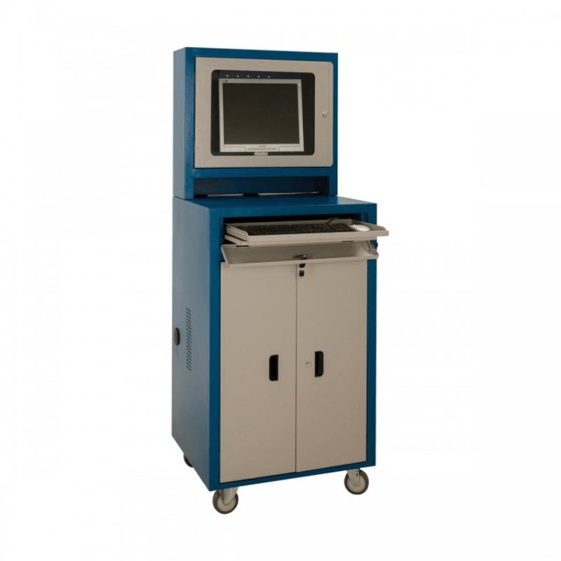 Rack industrial para pc com 1 gaveta RPCV 05